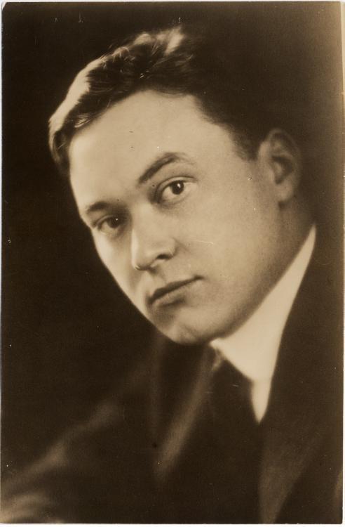 En ung Walter Lippmann fotograferet i 1914.