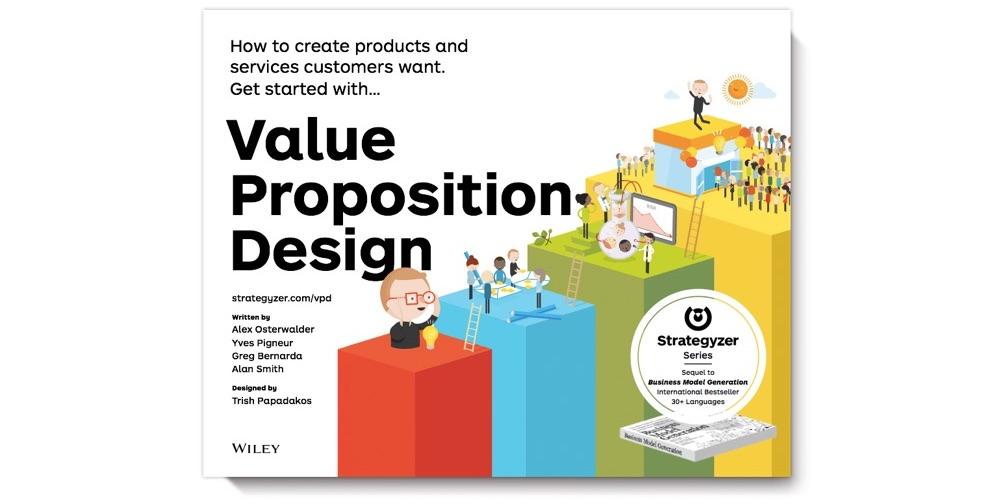 Forsiden til bogen Value Proposition Design